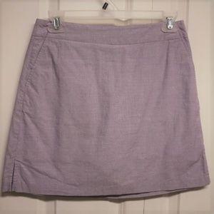 Lady Hagen Skort Size O Purple